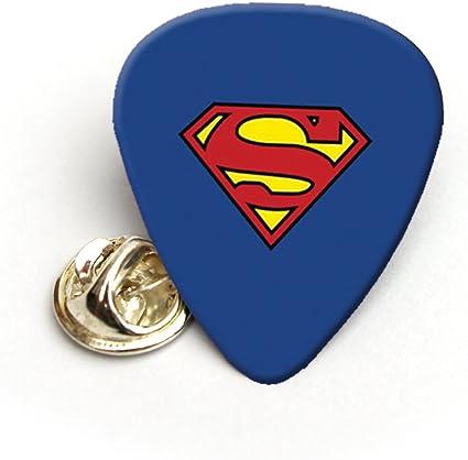 Superman púa de guitarra púa pines Pin de solapa corbata Tack ...