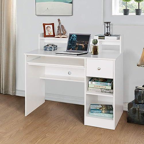 Best modern office desk: Crestlive Products Writing Computer Desk