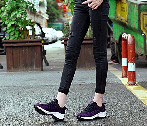 Calzados de Zapatillas Verano de Negro y Mujer Running Para Deportivos Primavera mogeek dzHg8qdy
