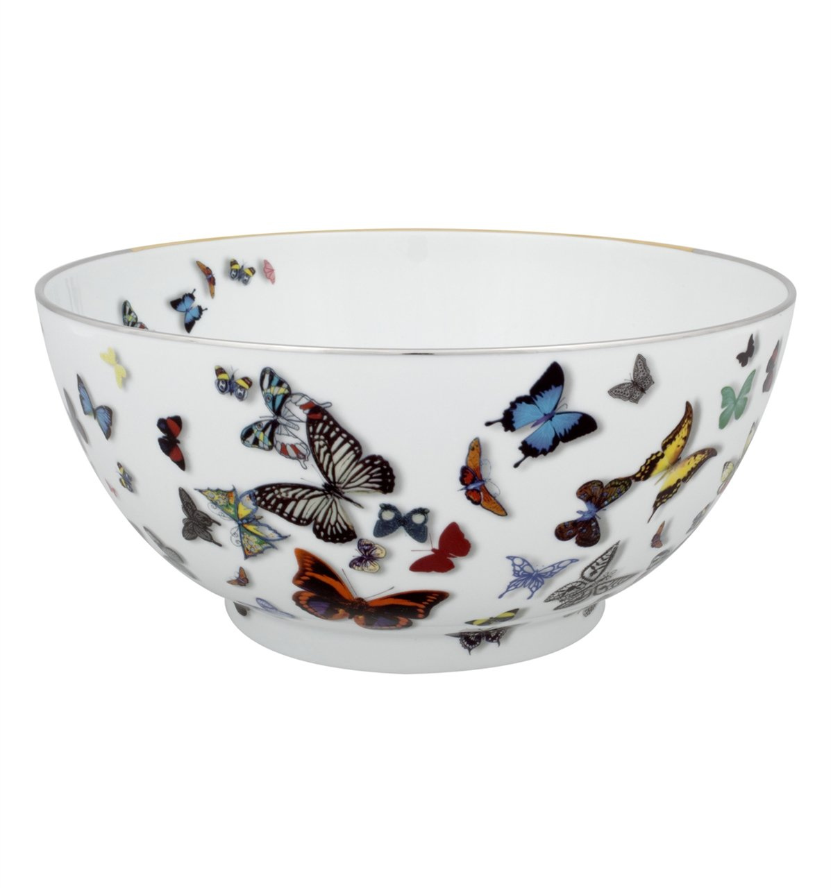 Vista Alegre Christian Lacroix Butterfly Parade Salad Bowl by Vista Alegre