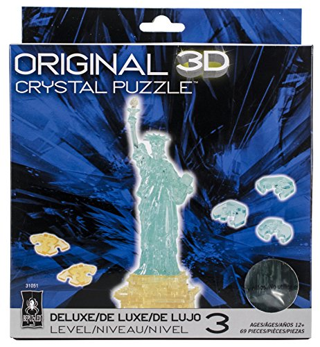 - BePuzzled Deluxe 3D Crystal Puzzle - Statue of Liberty