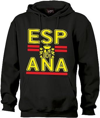SRS-Textilservice España Spain Espana Sudadera con Capucha saleandmore – Sudadera Negro Negro: Amazon.es: Ropa y accesorios