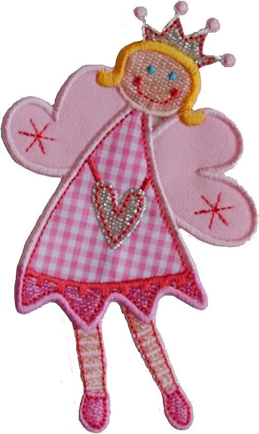 2 Parche de bordado o planchado Katie Hadas 11X7Cm Estrella Roja Actitud 9X9Cm termoadhesivos bordados aplique para ropa con diseño de TrickyBoo Zurich Suiza por España: Amazon.es: Bebé
