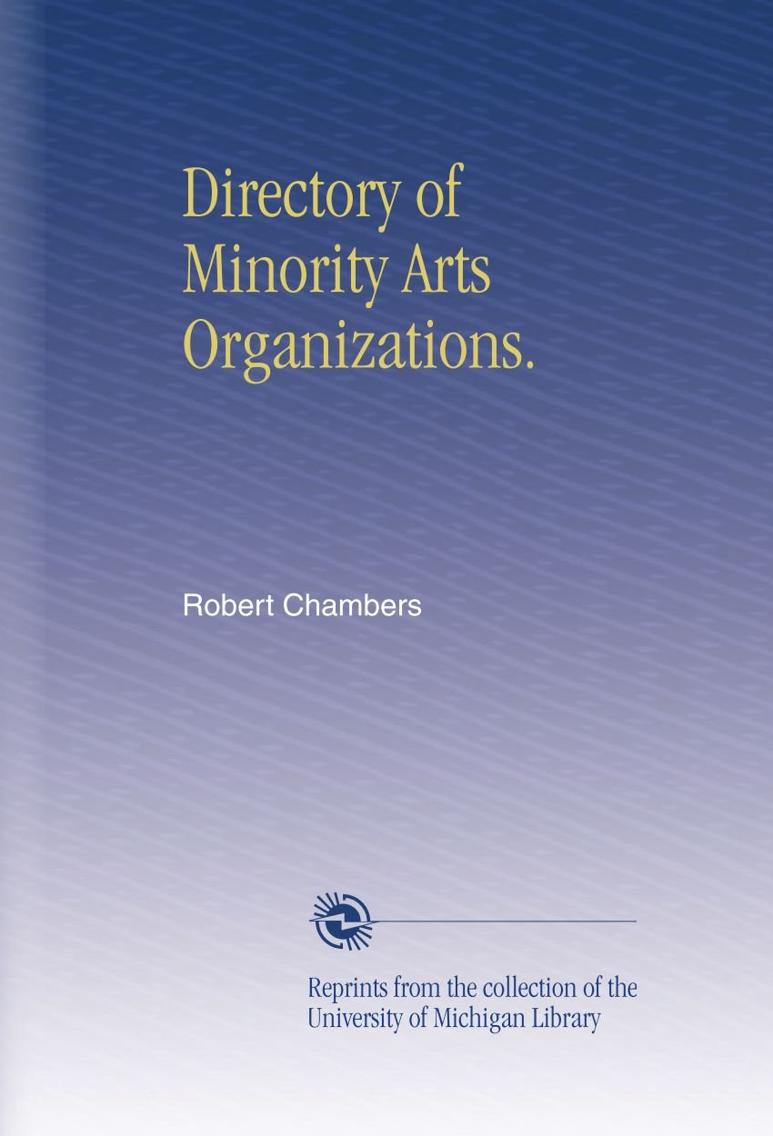 Download Directory of Minority Arts Organizations. pdf