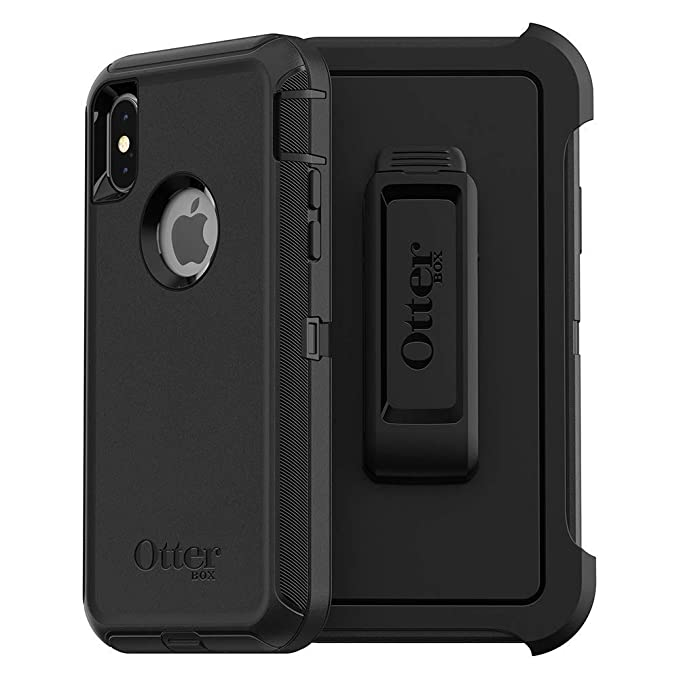 huge discount b335d 0a4db Amazon.com: Compatible with iPhone X and XS - OtterBox Defender ...