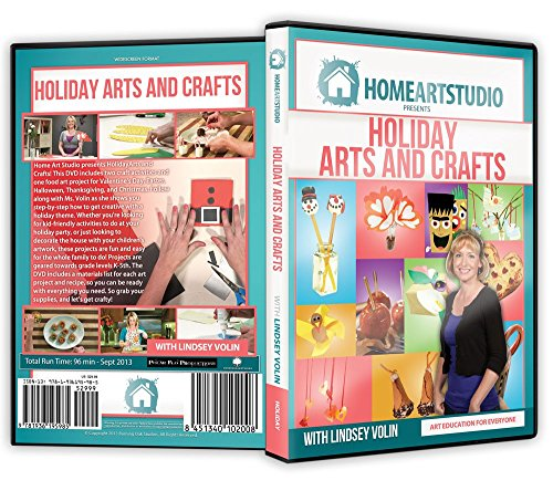 Home Art Studio Art Program Holiday Arts and Crafts with Lindsey Volin DVD