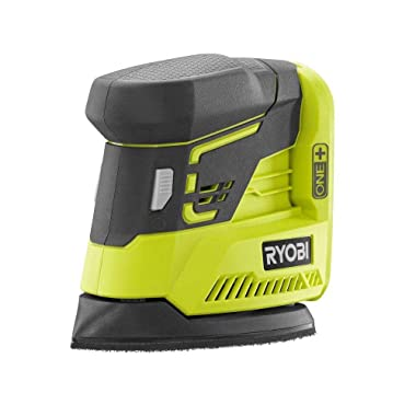 Ryobi ZRP401 ONE+ 18V Cordless Lithium-Ion Corner Cat Finish Sander (Bare Tool) (Renewed)