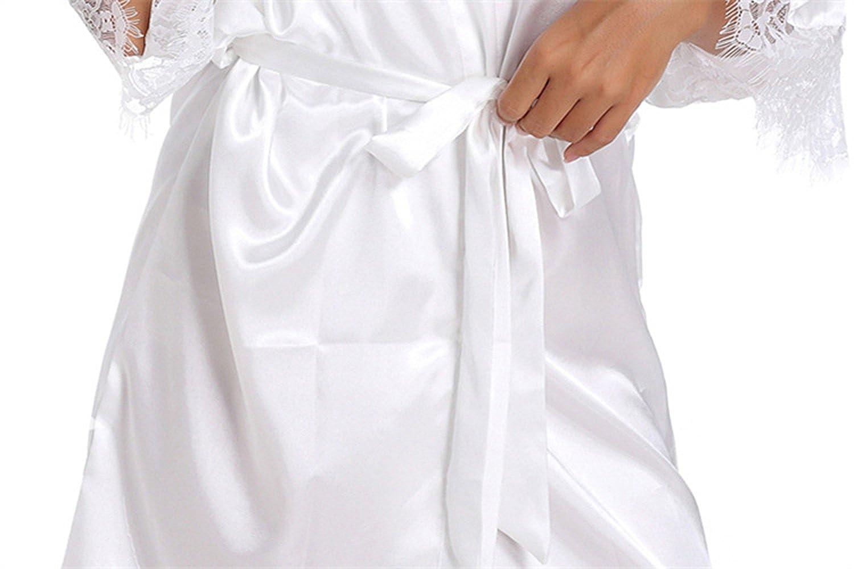 WPFING Blanco Camis/ón de la Boda para el Camis/ón Nupcial de la Novia del Partido Nupcial
