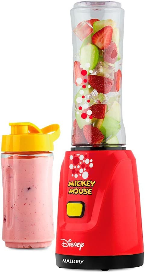 Liquidificador Individual Mickey Mouse 350W 220V, Mallory B91201692, Vermelho, Mallory, B9