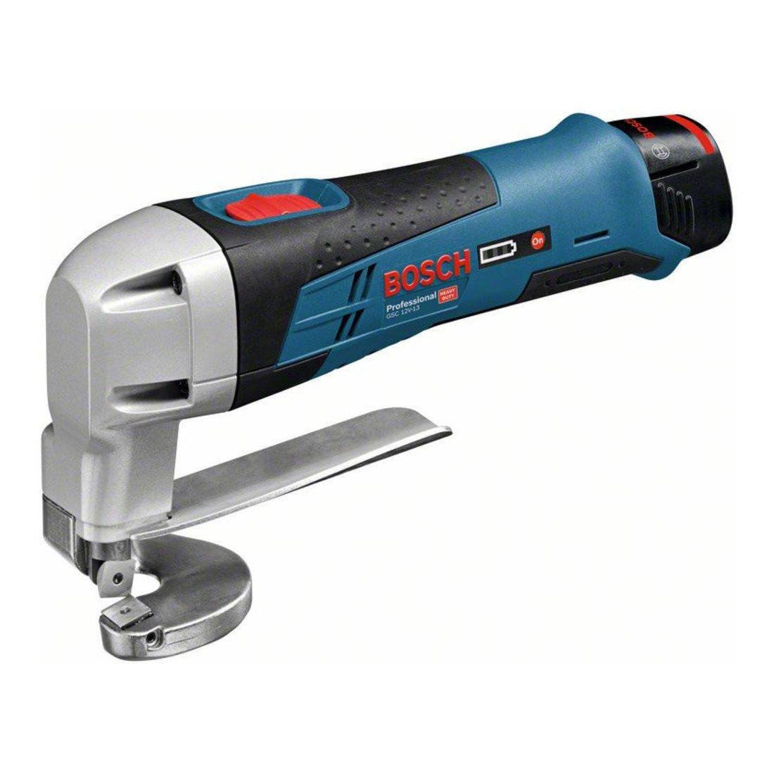 Bosch Professional GSC 10,8 V-LI Scheere 2x2,0 Ah L-B B00DSUA6LC | Glücklicher Startpunkt
