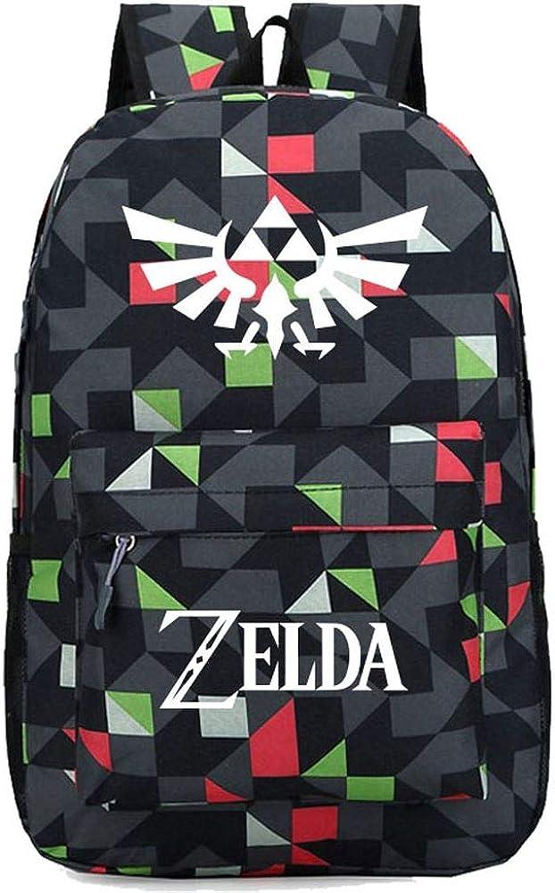 Coslive Zelda Backpack Travel Bag Cosplay Bookbag Backpack SchoolBag for Adult…