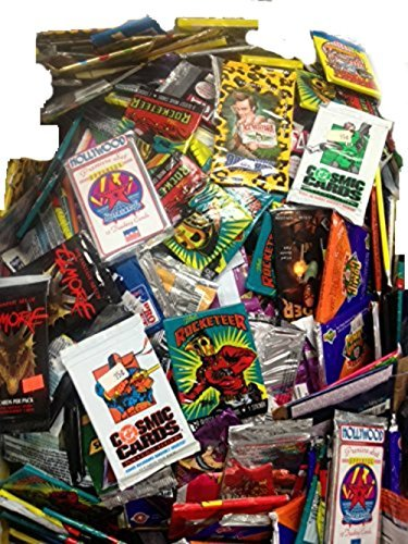 100 Vintage Oddball Non-Sport Trading Cards in Old Sealed Packs - Movie, TV, Comic Cards & More! Perfect for Collectors from Buggle's Classics