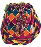 Mochila Wayuu LANES 100% Hand Woven Go-anywhere Shoulder Bag -Multicolor