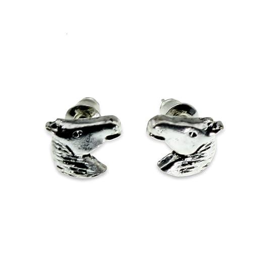 Minimalist Earrings [Horse Theme] for Women, Teens & Girls