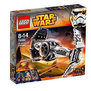 LEGO Star Wars TIE Advanced Prototype Kids 355 Piece Building Playset | 75082 - 61bVKUNRaJL - 40996356-WM-NIK