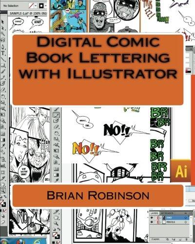 Read Online Digital Comic Book Lettering  with Illustrator PDF