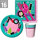 BirthdayExpress Spa Party Supplies Party Snack Pack for 16
