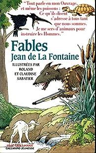Fables par Jean de La Fontaine
