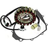 Caltric Stator & Gasket Compatible With Yamaha Warrior 350 Yfm350 2002 2003 2004 New