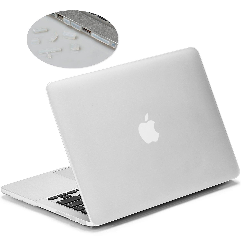 LENTION Funda rígida de plástico Compatible MacBook Pro (Retina,13 Pulgadas, Finales de 2012 a principios de 2015) Modelo A1425/A1502, Acabado Mate ...