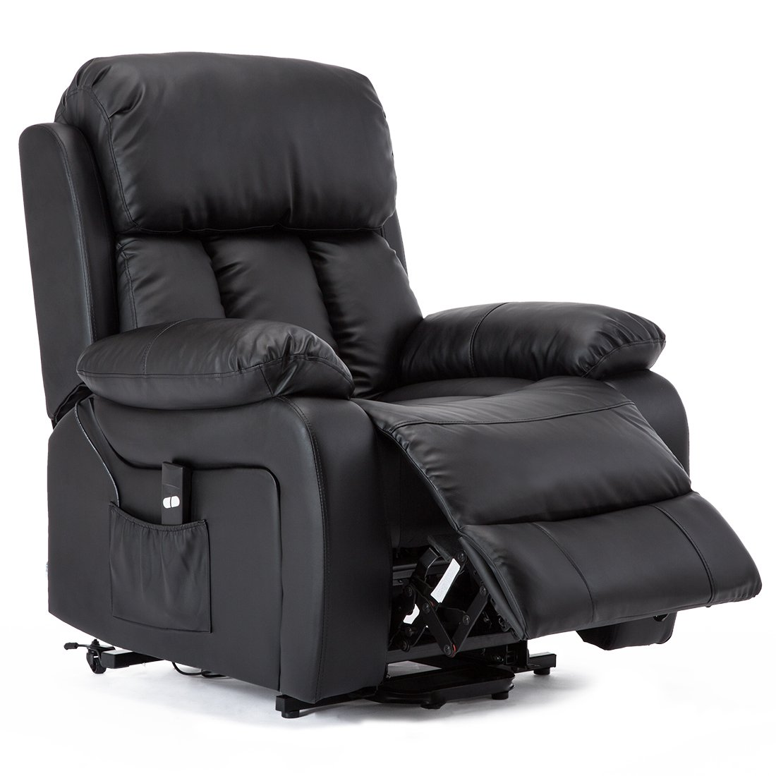More4Homes CHESTER ELECTRIC RISE RECLINER MASSAGE HEAT