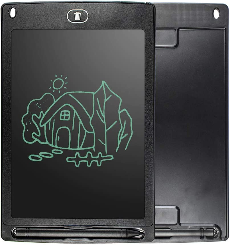 8.5-Inch LCD Writing Tablet Reusable Doodle Scribble Board for Kids Smart Drawing Pad for Home School Office,Blue