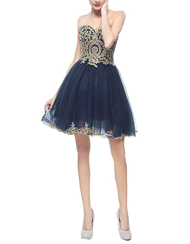CoutureBridal® Schatz Ausschnitt Hotfix Strass Brautjungferkleid ...