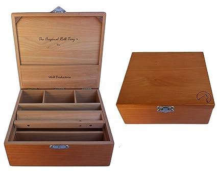 Amazon.com: Wolf T3L Deluxe - Caja de rodillos: Jardín y ...
