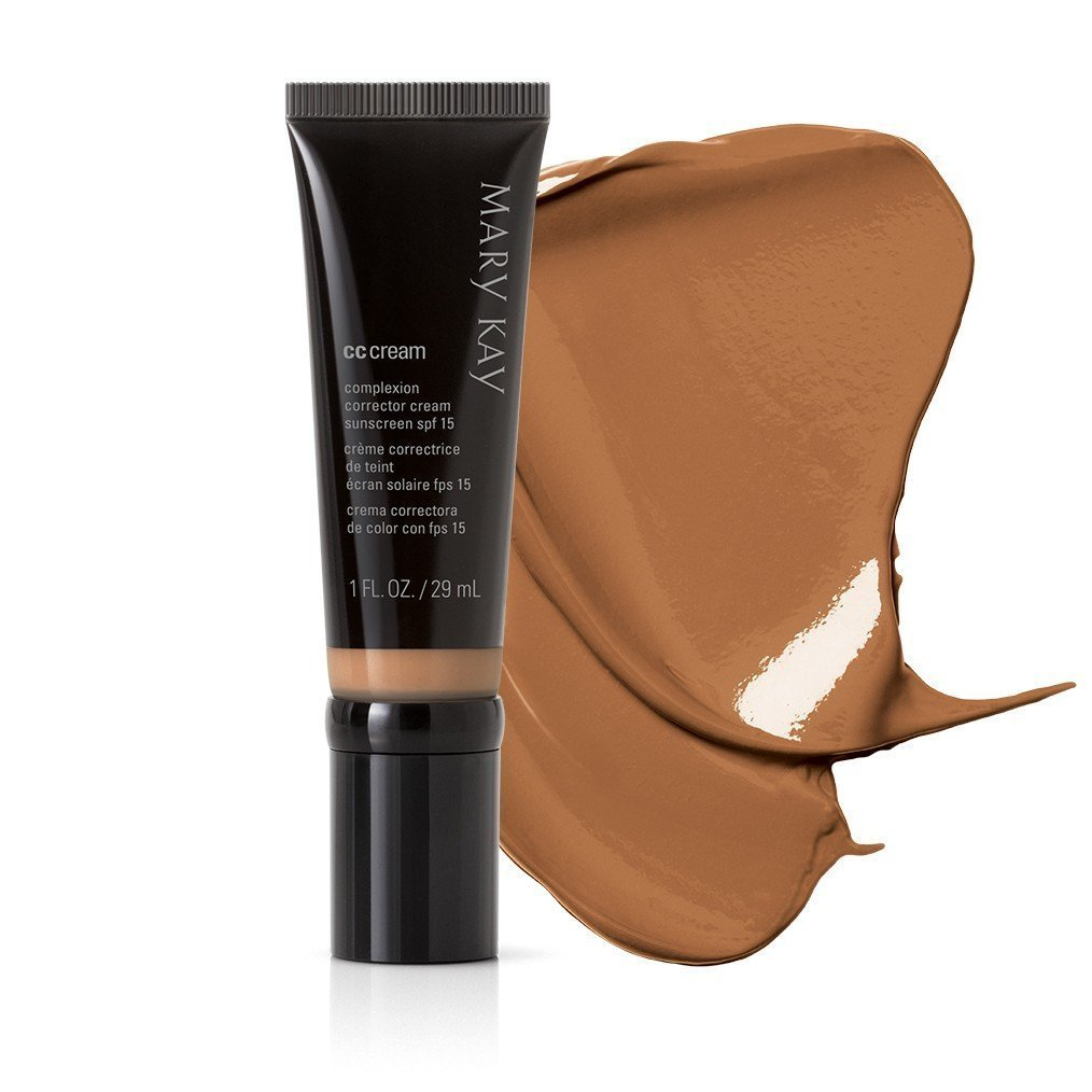 NEW! Mary Kay CC Cream Sunscreen Broad Spectrum SPF 15 (Over-the-counter drug product): Very Deep