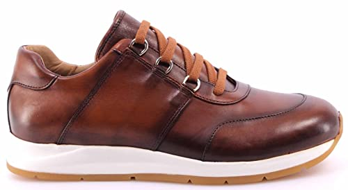 Scarpe Uomo Sneakers ROBERTO BOTTICELLI Limited Vitello Antic Cognac  Experience 7bee159e78e