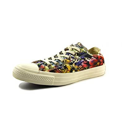 5ae923805748 Converse Chuck Taylor All Star Floral Womens Low Top Sneakers (10 B(M)