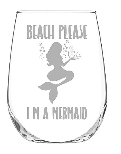 Image Unavailable  sc 1 st  Amazon.com & Amazon.com | Stemless Wine Glass 17oz | With Permanent Etching ...