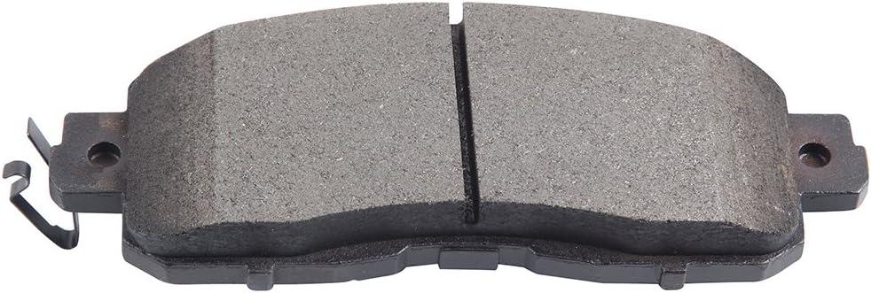 Centric Front/&Rear Premium Brake Rotor Ceramic Pad 6PCS For 2015 Nissan Rogue