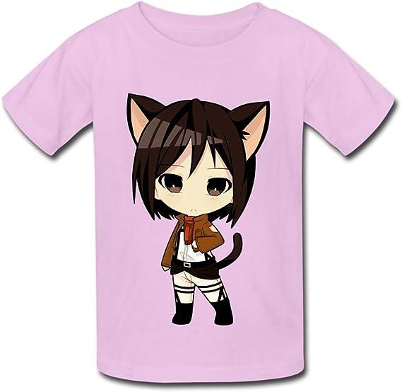 Rida Mikasa Ackerman Attack On Titan Anime Girl Hd Wallpaper 1521727 Unisex Kids T Shirts X Large Pink Amazon Ca Clothing Accessories