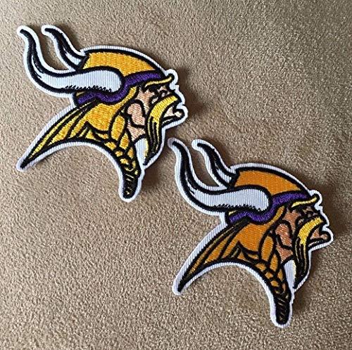 Lot of 2 Minnesota Vikings NFL Football Team