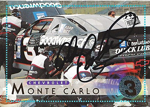 AUTOGRAPHED Dale Earnhardt Sr. 1996 Pinnacle Action Packe...