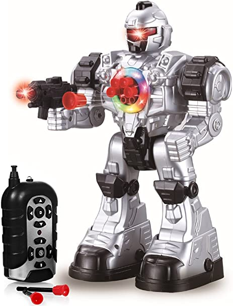 Amazoncom Play22 Remote Control Robot Toy Robots For Kids Superb