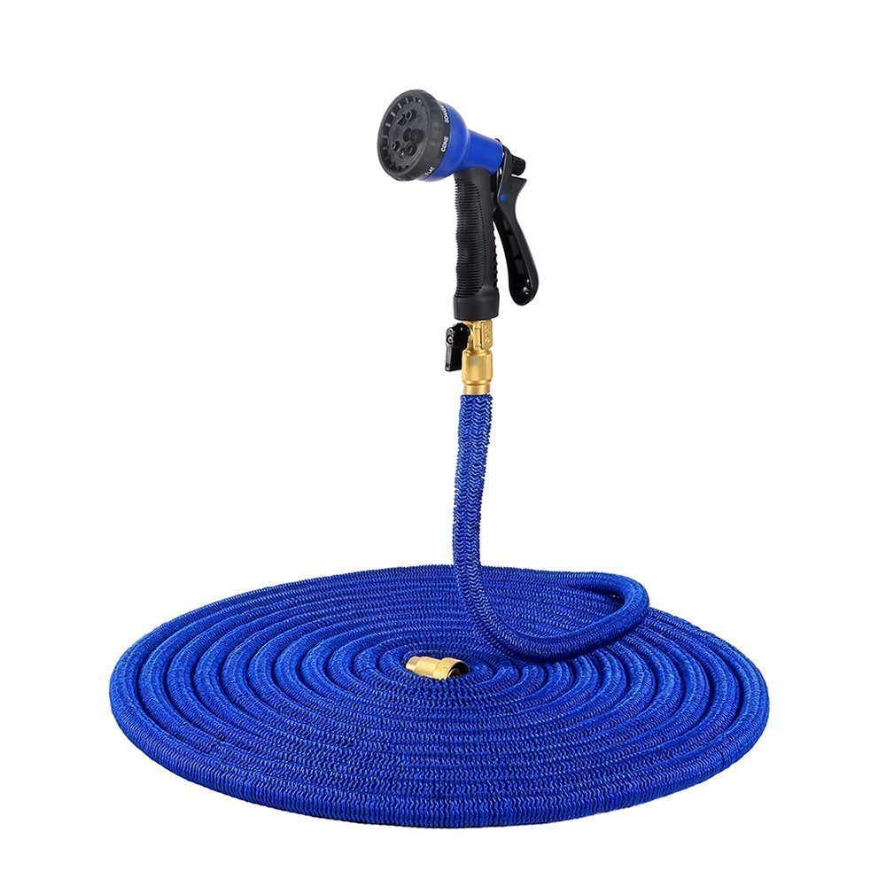 Expandable Garden Hose, Ohuhu 30M/100FT Expandable Garden Hose with Bonus Sprayer Nozzle