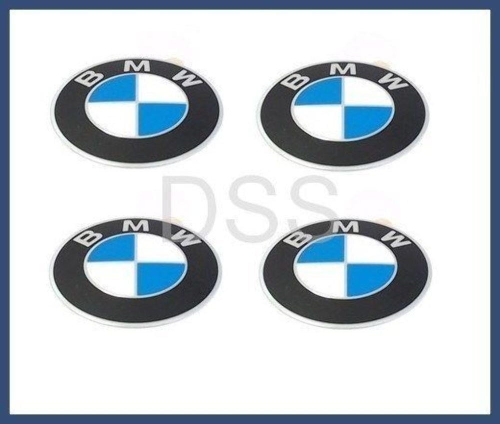 BMW (1984-2011) Wheel center cap Emblems OEM 70mm GENUINE BMW