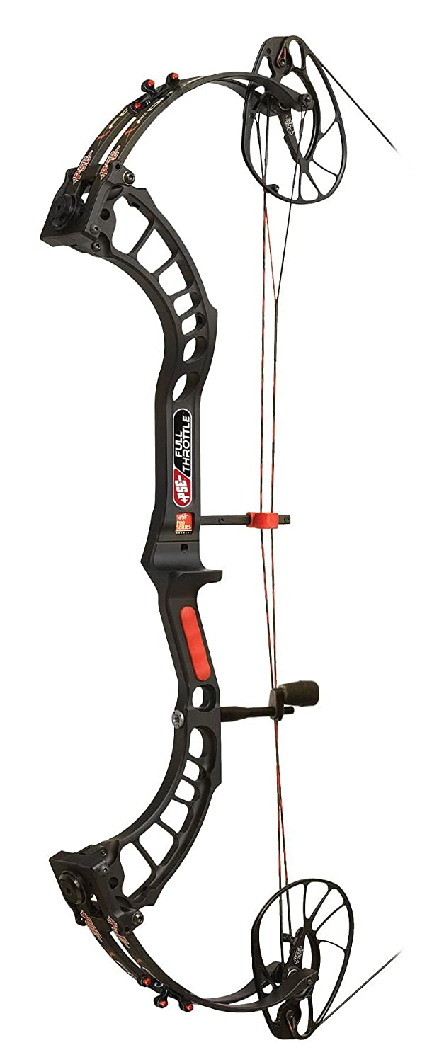 PSE Archery, Full Throttle Compound Bow, Black, Right Hand, 29