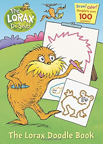 LORAX DOODLE BOOK Golden Books product image