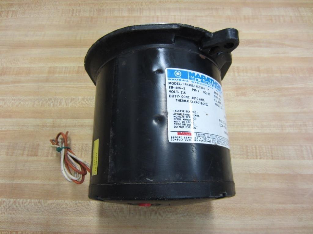 Amazon.com: Marathon ppk48s34s331 a ppk48s34s331ap del motor ...