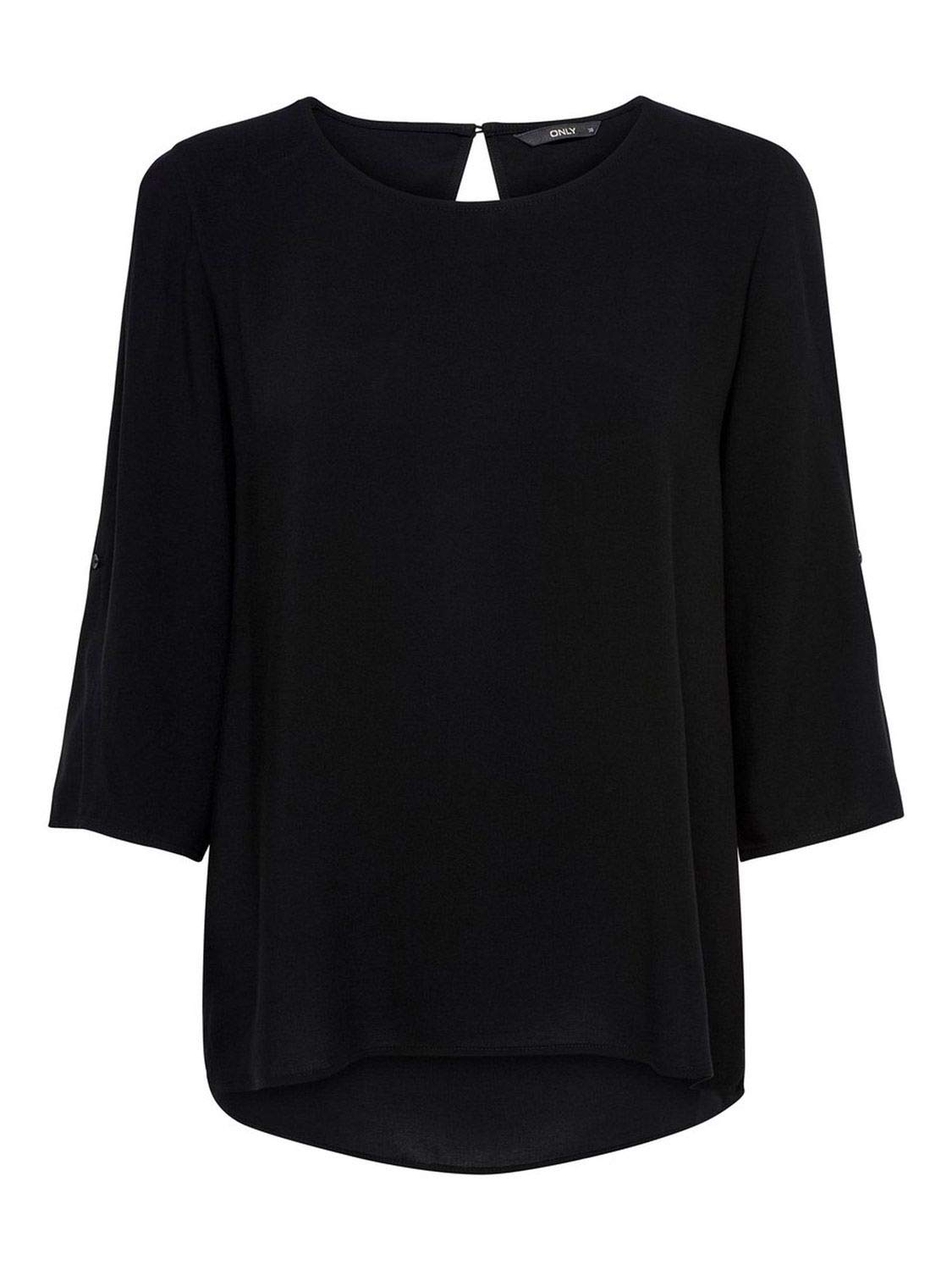 Only Women's 15173435BLACK Black Viscose Blouse