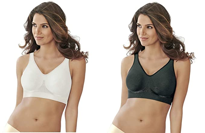 427fea8984 Bali Designs Women s Comfort Revolution Shaping Wire-Free Bra Targeted  Support. 2 Pack