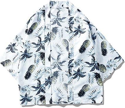 Runfon para Hombre del Kimono de Cardigan Carpa Japonesa ...