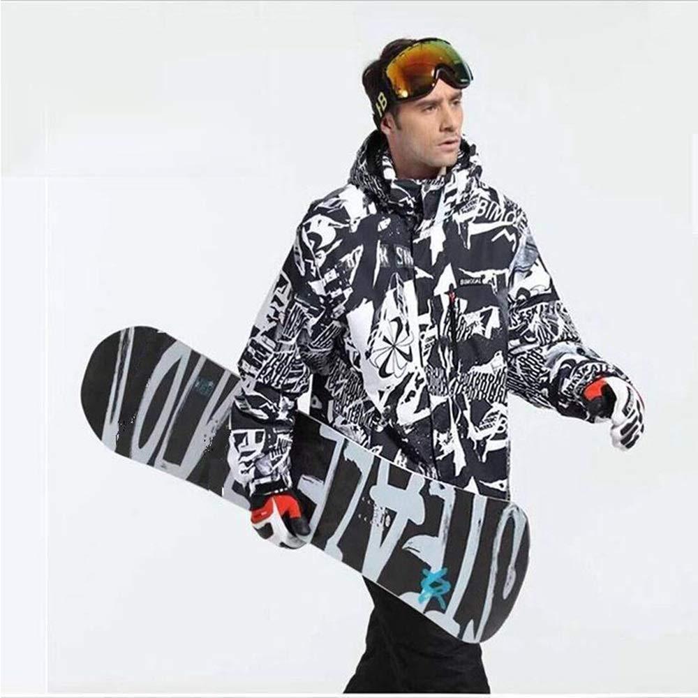 Jxth Giacche Invernali Invernali Invernali Invernali Tuta da Sci Single Board Double Board Antivento Impermeabile Caldo Abbigliamento da Esterno in Cotone Abbigliamento Unisex per Sci SnowboardB07MYRZ4XXMedium Nero | Germania  | Spaccio  | Folle Prezzo  | Di Qualità Dei P f195c8