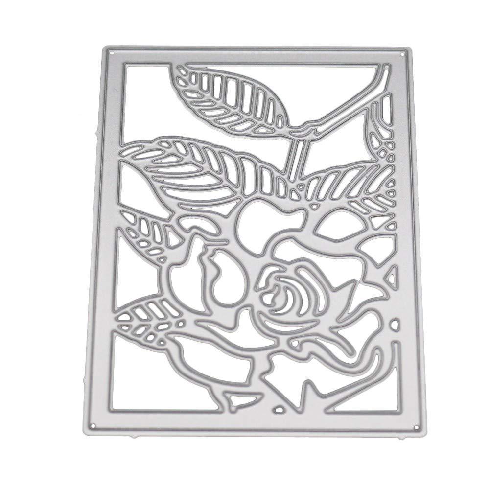 Bringbring Metal Cutting Dies for Making Cards Stencils Scrapbooking Embossing DIY Crafts