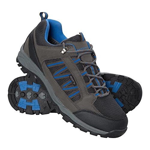 Mountain Warehouse Path Mens Walking Shoes   Waterproof Gym Shoes   Breathable Running Shoes  Mesh