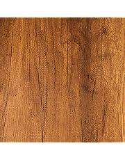 Livelynine Brown Wood Contactpapier