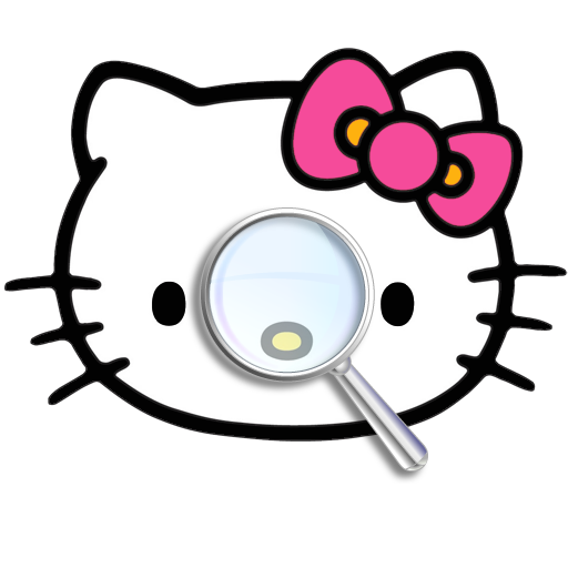 Find Differences: Hello (Hello Kitty Wallpaper)